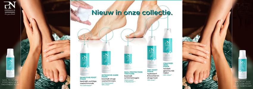 Cosmetische voetverzorging