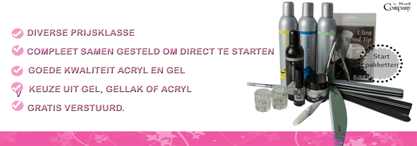 Acrylnagel pakketen