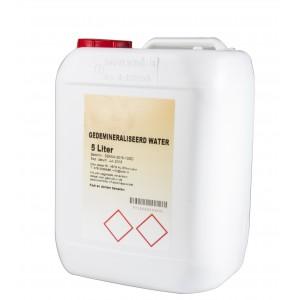 Gedeminiraliseerd water 5 liter