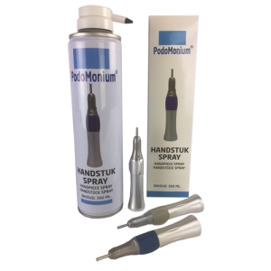 Podomonium handstuk spray