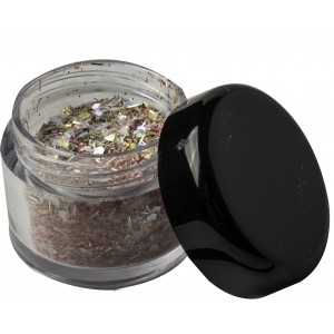 Scence coloracryl party glitter rood