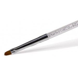 Gel penseel glitters ovaal 10