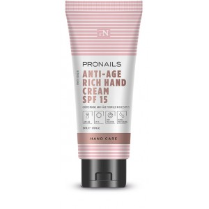 Pronails Anti-Age Hand Cream Rich SPF 15 50 ml