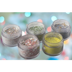 Party Color Glitter Set
