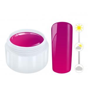 Color effect solar gel pink