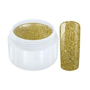 Hologram glitter gel goud