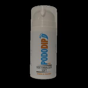 Pododip soft honing & yoghurt 100ml