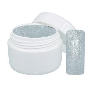 Extreme sparkle gel zilver