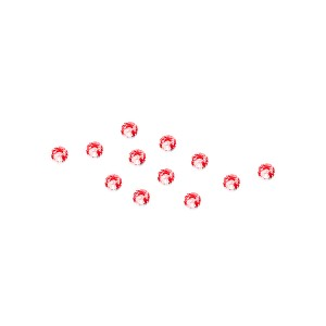 Strassteentjes rood
