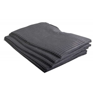 Dental towel zwart
