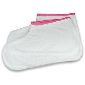 Badstof voetenwarmer set