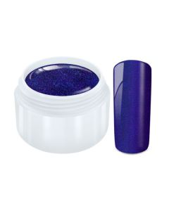 Color Gel  flip flop chrome donker blauw