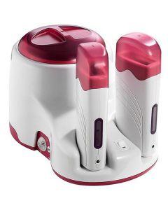 Combi harspotverwarmer+duoharsapparaat