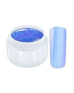Color Gel  flip flop chrome blauw