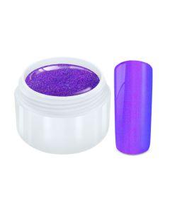 Color Gel flip flop chrome paars